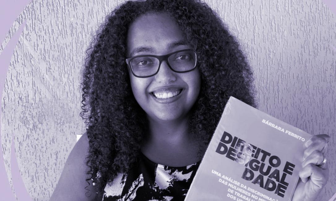 Bárbara Ferrito nasceu no Rio de Janeiro, é formada na Faculdade Nacional de Direito (UFRJ), juíza e pesquisadora do Direito do Trabalho Foto: Divulgação