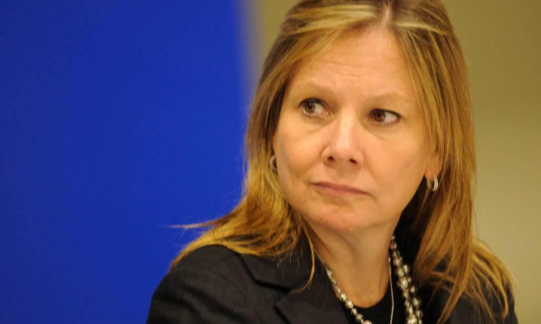 Mary Barra, presidente mundial da General Motors, defendeu que a luta contra a injustiça e racismo devem continuar Foto: Claudio Belli/08/09/2017 / Agência O Globo