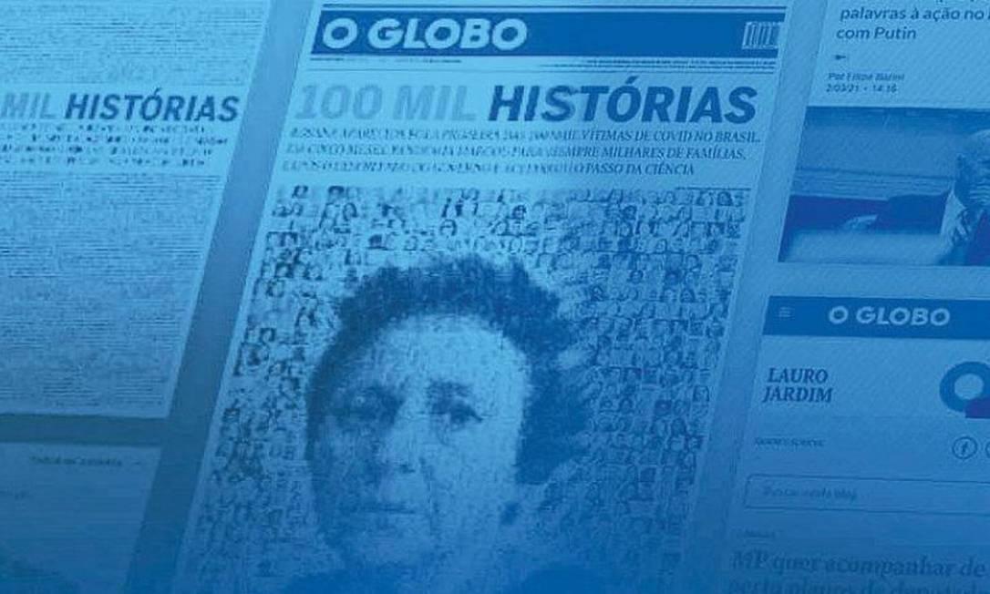O GLOBO é o jornal mais lido do país Foto: Editoria de Arte