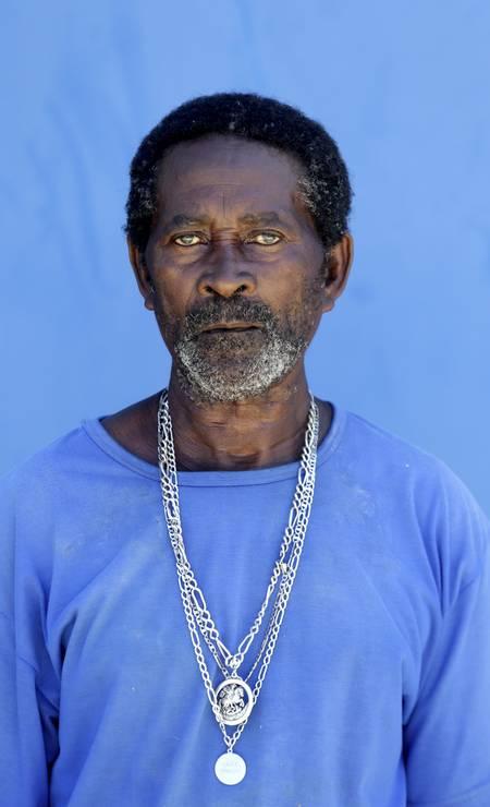 Lourival Ribeiro, de 74 anos, criticou a forma como o cadastro de quilombolas foi feito no município Foto: Domingos Peixoto / Agência O Globo