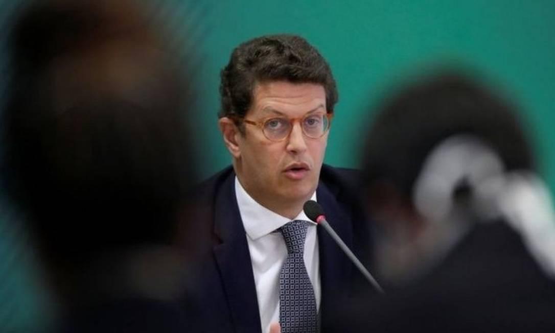Ricardo Salles, ministro do Meio Ambiente Foto: Reuters