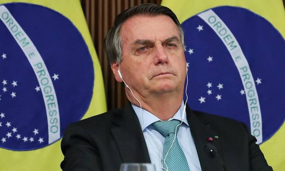 No cenário internacional, políticas ambientais do governo Bolsonaro são vistas com desconfiança há meses Foto: MARCOS CORRÊA/PR