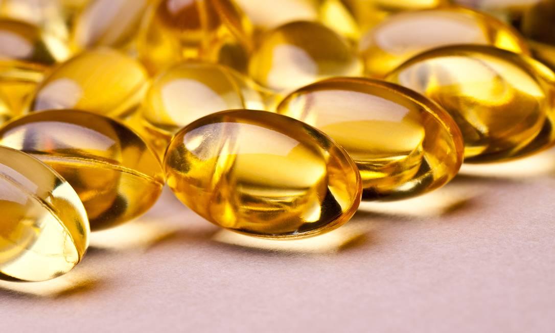 Cápsulas de vitamina D: suplementação aumentou Foto: Shutterstock