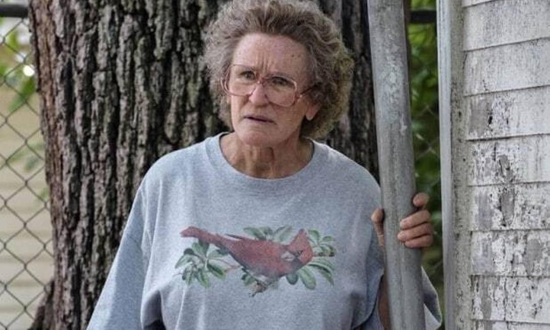 """Melhor atriz coadjuvante: Glenn Close concorre à estatueta pela personagem Mamaw em """"Era uma vez um sonho"""" Foto: Divulgação"""