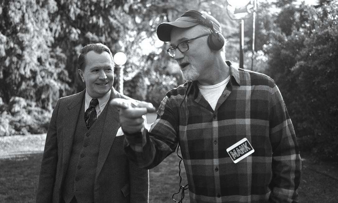 Melhor Direção: David Fincher concorre com 'Mank', uma produção da Netflix Foto: Divulgação/Netflix