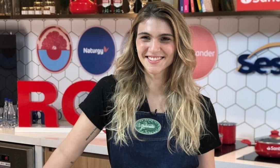 Nathalie Passos, chef do Naturalie Bistrô Foto: Reprodução