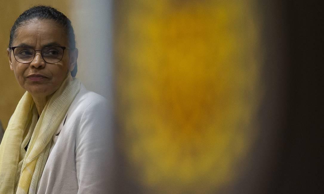 Marina Silva afirma que marqueteiro João Santana representa a 'antítese do debate' Foto: Edilson Dantas / Agência O Globo/21-11-2018