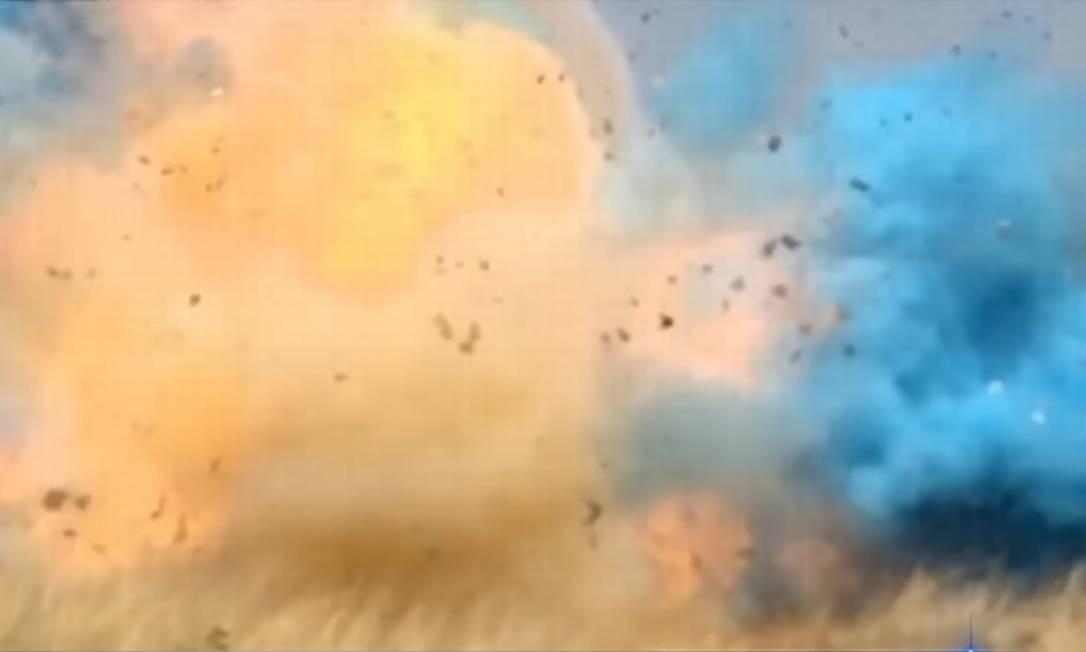 Explosão ocorreu em uma pedreira mas foi ouvida por moradores a quilômetros de distância Foto: Reprodução YouTube/Imagem ilustrativa