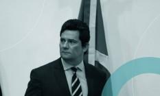 Sergio Moro deixou o governo após um ano e quatro meses Foto: Pablo Jacob