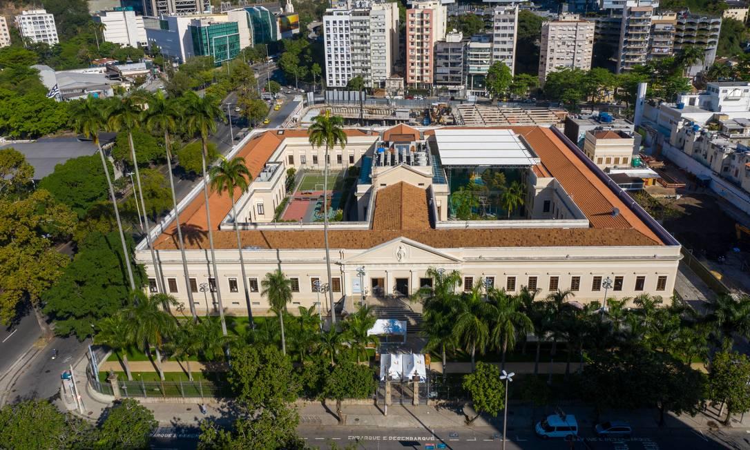Colégio Grupo Eleva, em Botafogo Foto: Brenno Carvalho / Agência O Globo