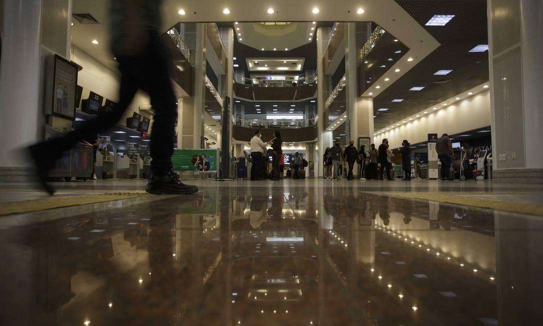 Aeroportos Santos Dumont (foto) e Congonhas estão na mira da CCR Foto: Márcia Foletto / Agência O Globo