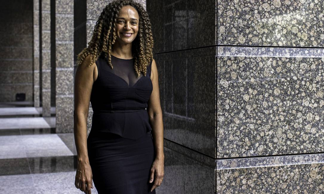 Isabel dos Santos está em Dubai, onde responde a processos por lavagem de dinheiro Foto: Christopher Pike / Bloomberg