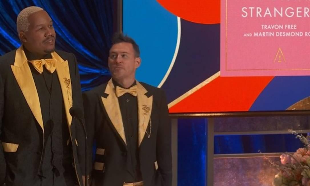 """""""Two Distant Strangers"""", de Travon Free e Martin Desmond Roe, levou o prêmio de Melhor Curta-Metragem. Foto: Reprodução"""
