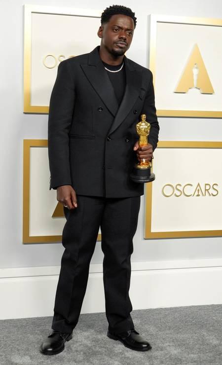 Daniel Kaluuya ganhou oscar de melhor ator coadjuvante Foto: POOL / REUTERS