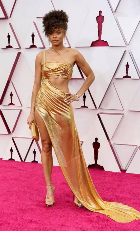 Andra Day, indicada ao Oscar de Melhor Atriz Foto: POOL / REUTERS