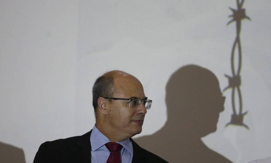 Witzel é acusado de integrar esquemas de corrupção no contexto da pandemia Foto: Pedro Teixeira em 22-5-2019 / Agência O Globo
