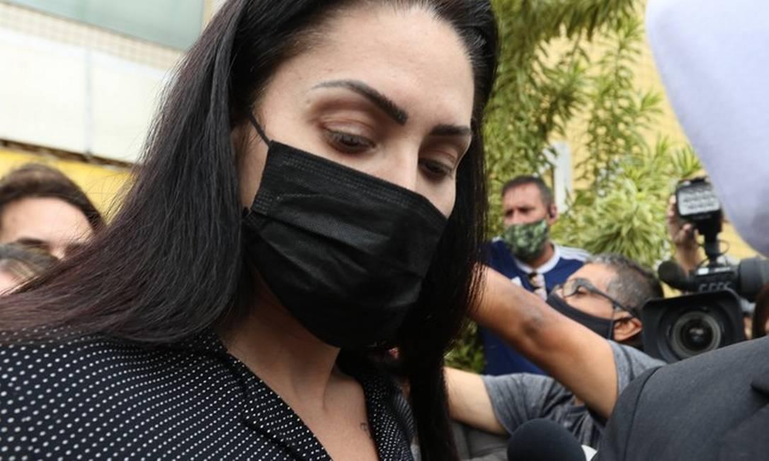 Monique Medeiros da Costa, acusada de matar ao lado do namorado, dr.Jairinho, o filho Henry Foto: Arquivo