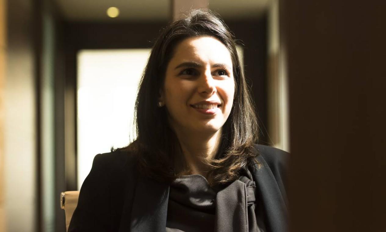 A advogada tributarista Vanessa Canado, assessora especial do Ministério da Economia voltada à reforma tributária, pediu demissão, mas não detalhou o motivo da saída Foto: Silvia Zamboni / Valor