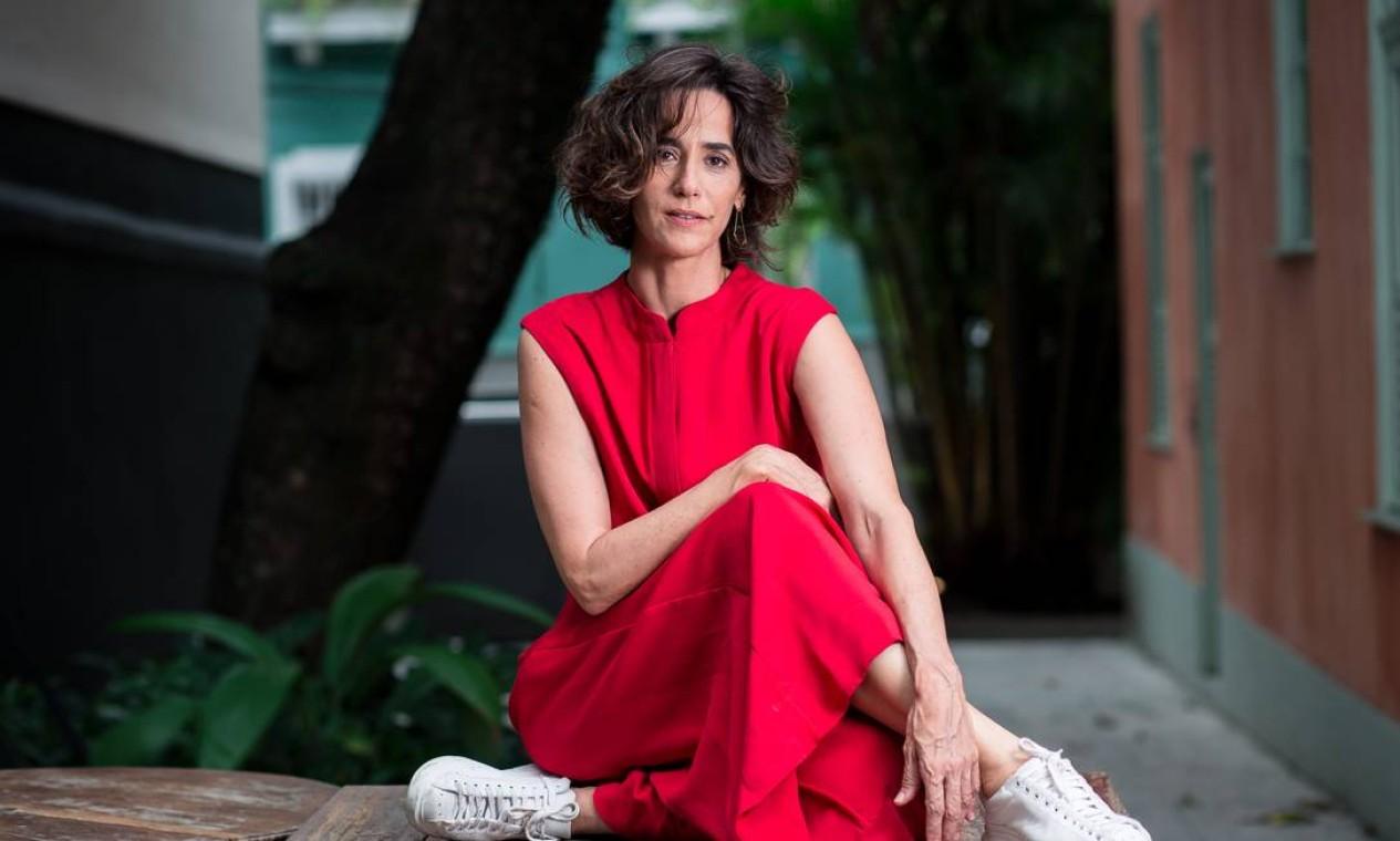 A atriz Mariana Lima Foto: Lucas Seixas / Agência O Globo