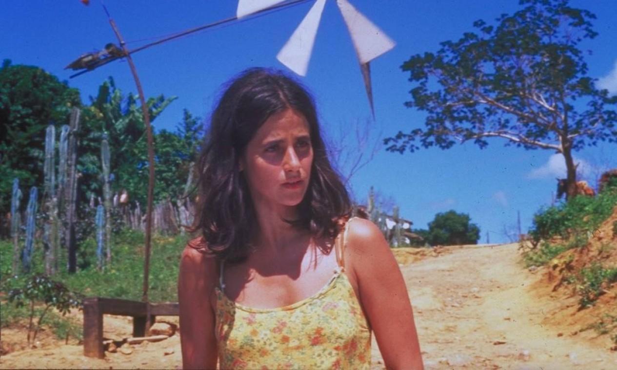 Mariana Lima em cena do filme Kenoma, em 1998 Foto: Divulgação