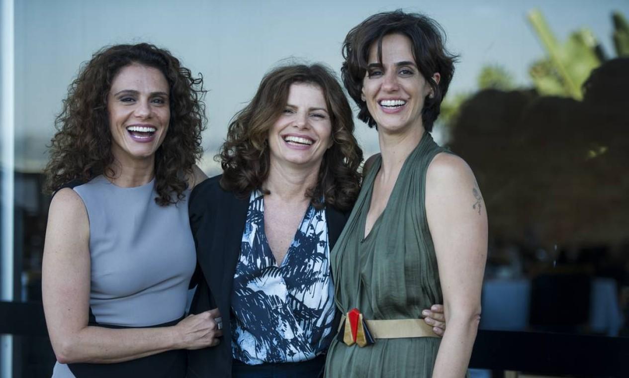 """Em cena da novela """"Sete Vidas"""", com Debora Bloch e Malu Galli Foto: Estevam Avellar /"""
