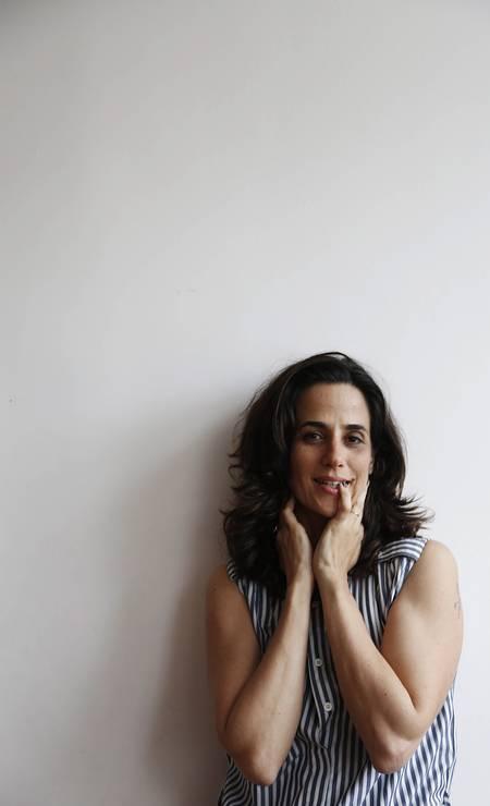 Mariana Lima em 2014 Foto: Camilla Maia / Agência O Globo