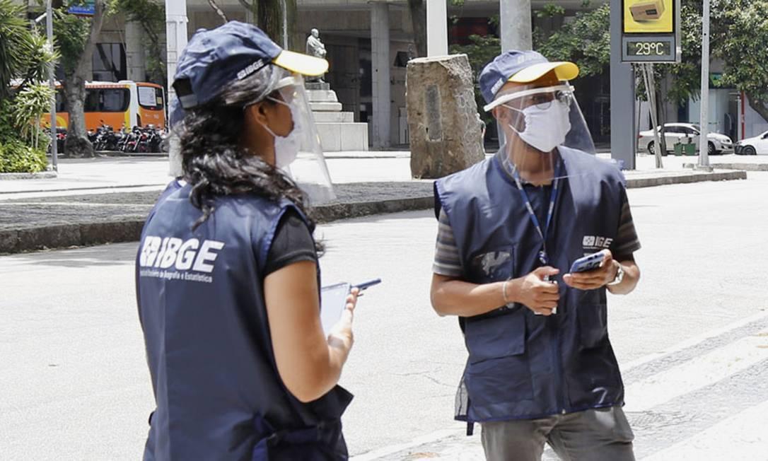 Censo: pesquisa ocorre a cada dez anos Foto: Agência O Globo