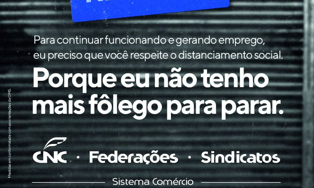 """""""Somente no ano passado, foram fechados 110 mil estabelecimentos em todo o Brasil"""", lembra o presidente da Confederação, José Roberto Tadros. Foto: Divulgação"""