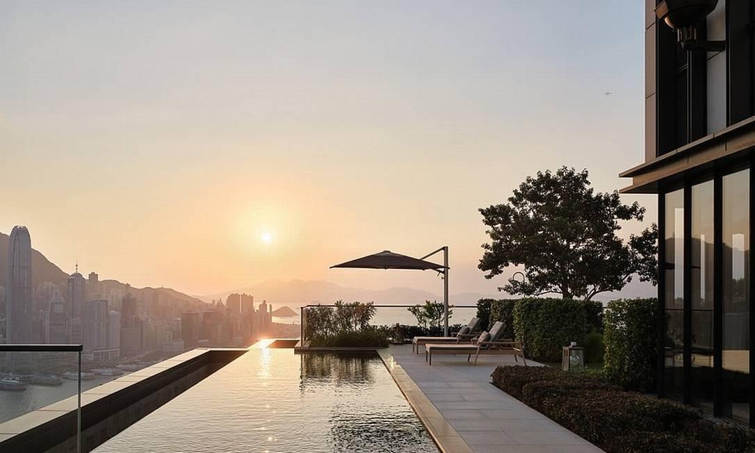 Vista hotel de Hong Kong Foto: Reprodução/Instagram