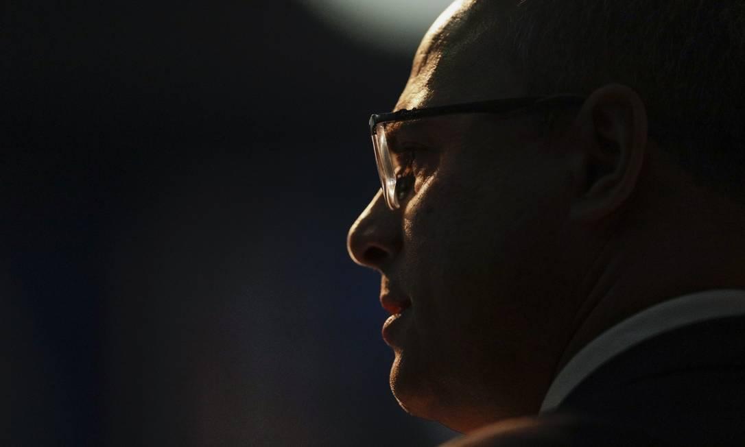 Witzel ficou à frente do cargo cerca de 1 ano e 8 meses, antes de ser afastado; nesta sexta-feira, foi condenado ao impeachment Foto: Gabriel Monteiro em 13-5-2019 / Agência O Globo