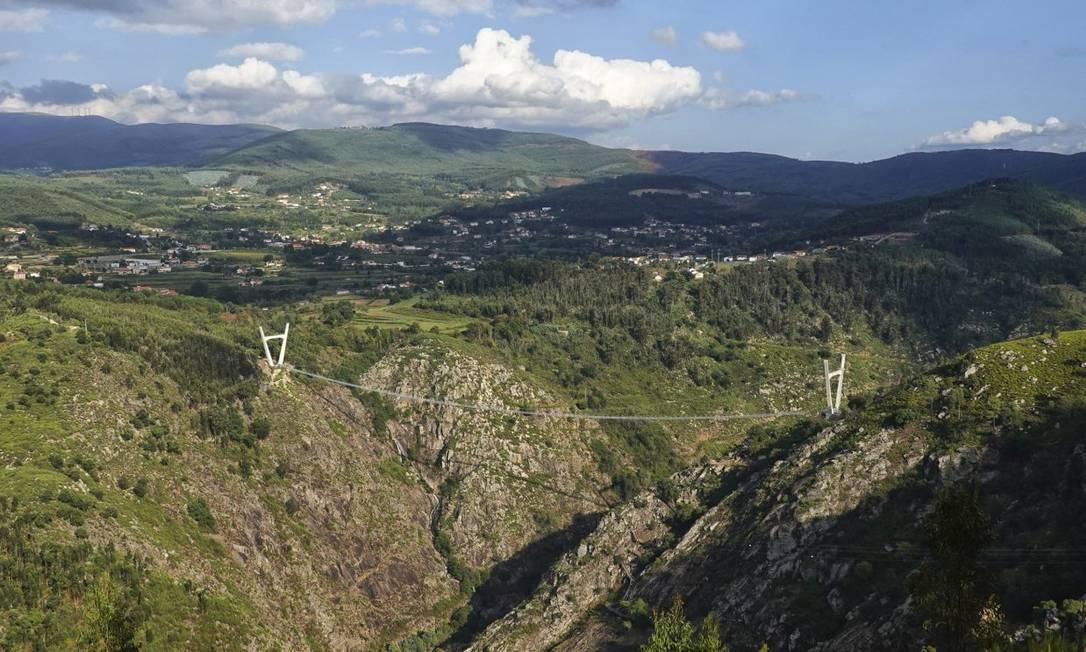 Ponte 516 Arouca será inaugurada no dia 2 de maio em Portugal Foto: Divulgação