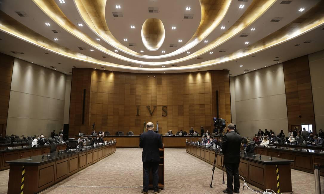 Tribunal Especial Misto (TEM) se reúne para decidir sobre impeachment de Witzel Foto: Marcia Foletto / Agência O Globo