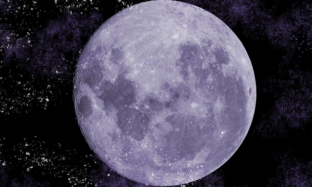 A Lua Foto: Alexandre Cassiano