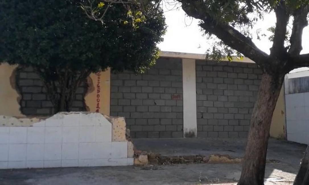 Casa de Val Lins foi selada pela Braskem após a retirada de seus pertences Foto: Arquivo pessoal