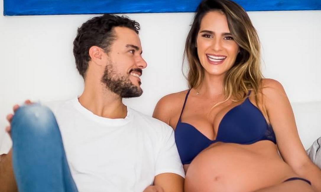 "Joaquim e Marcella ""gravidos"" Foto: Camila Coura"