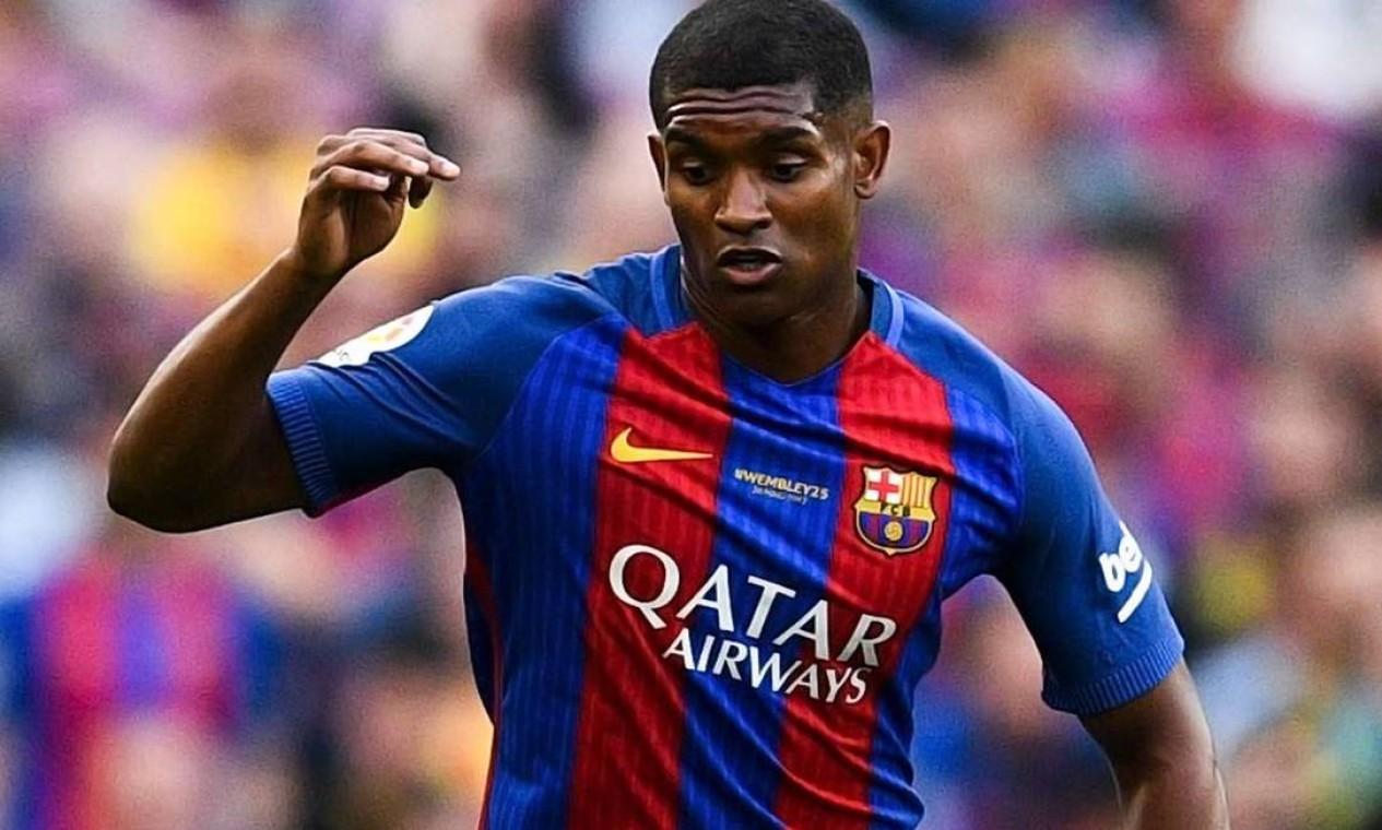 Marlon foi negociado ao Barcelona por R$ 20 milhões, em 2017 Foto: Reprodução