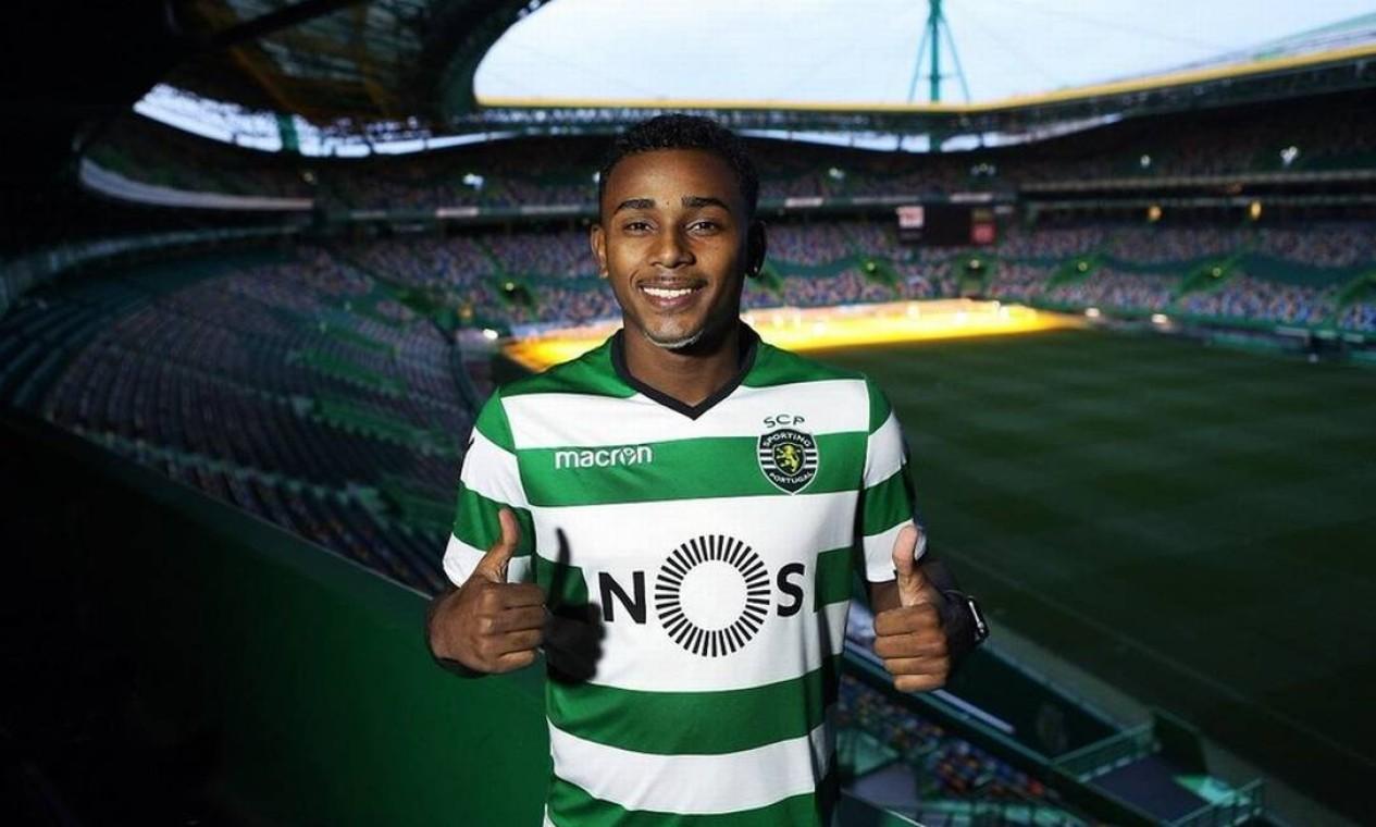 Saída de Wendel para o Sporting rendeu R$ 23,3 milhões em 2017 Foto: Reprodução