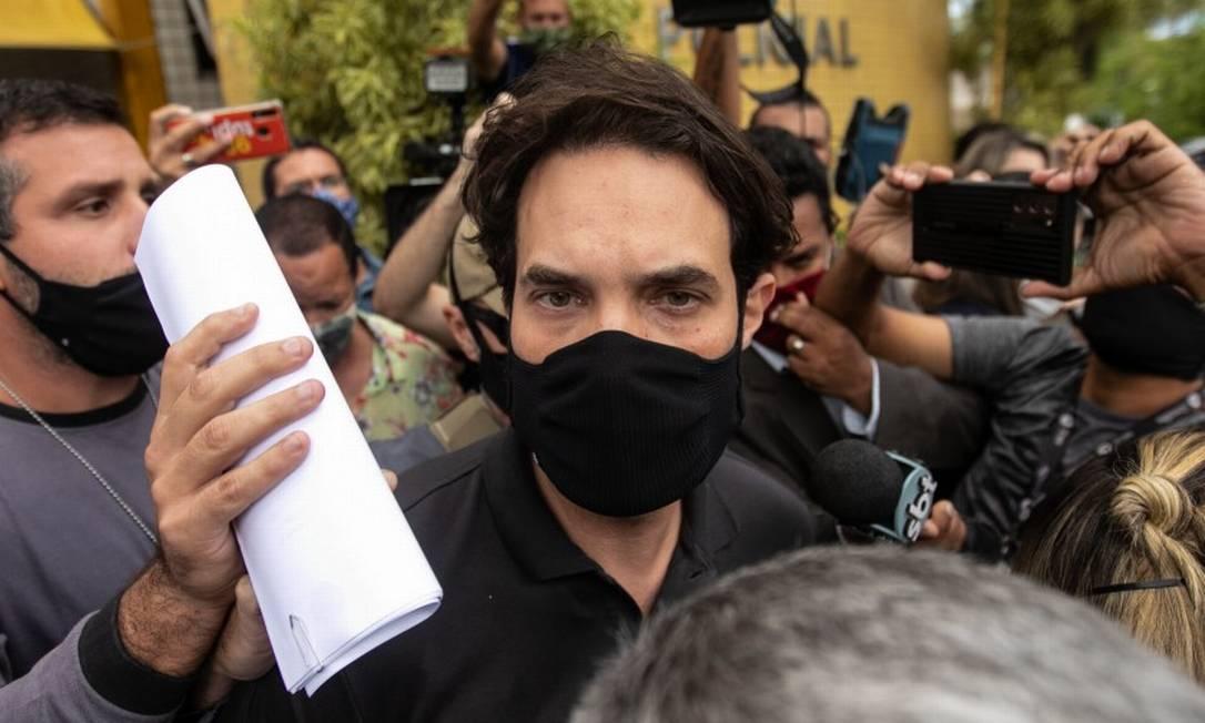 Dr. Jairinho, preso, acusado de matar o enteado, Henry Borel, é suspeito de outros crimes Foto: Brenno Carvalho / Agência O Globo