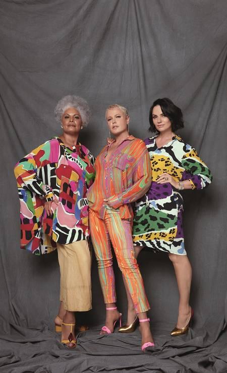 Veluma, Xuxa e Luiza Brunet Foto: Brunno Rangel