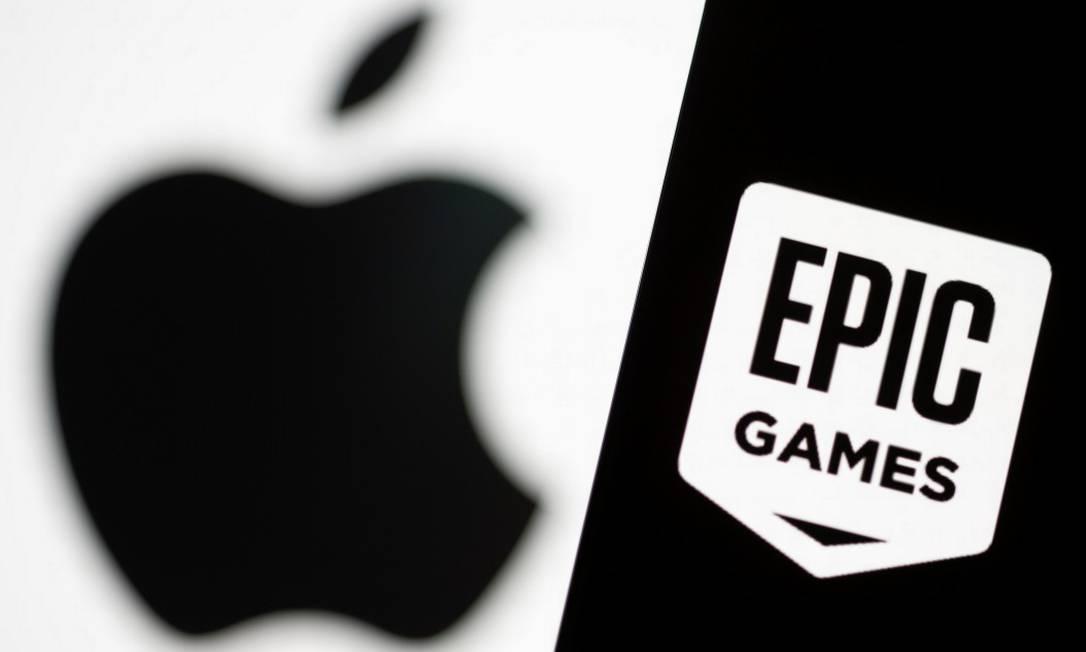 Epic Games, dona do jogo Fortnite, alega que a comissão de 30% da Apple sobre as vendas de aplicativos, na App Store, é uma violação da lei antitruste Foto: DADO RUVIC / REUTERS