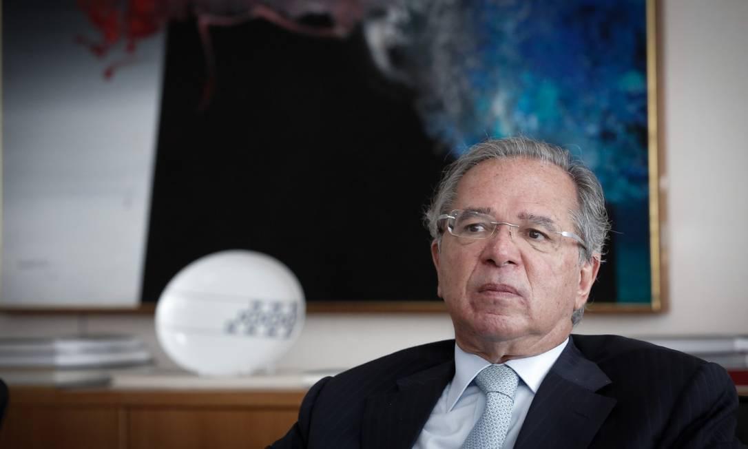 Ministro da Economia, Paulo Guedes Foto: Pablo Jacob/ 29/04/21 / Agência O Globo
