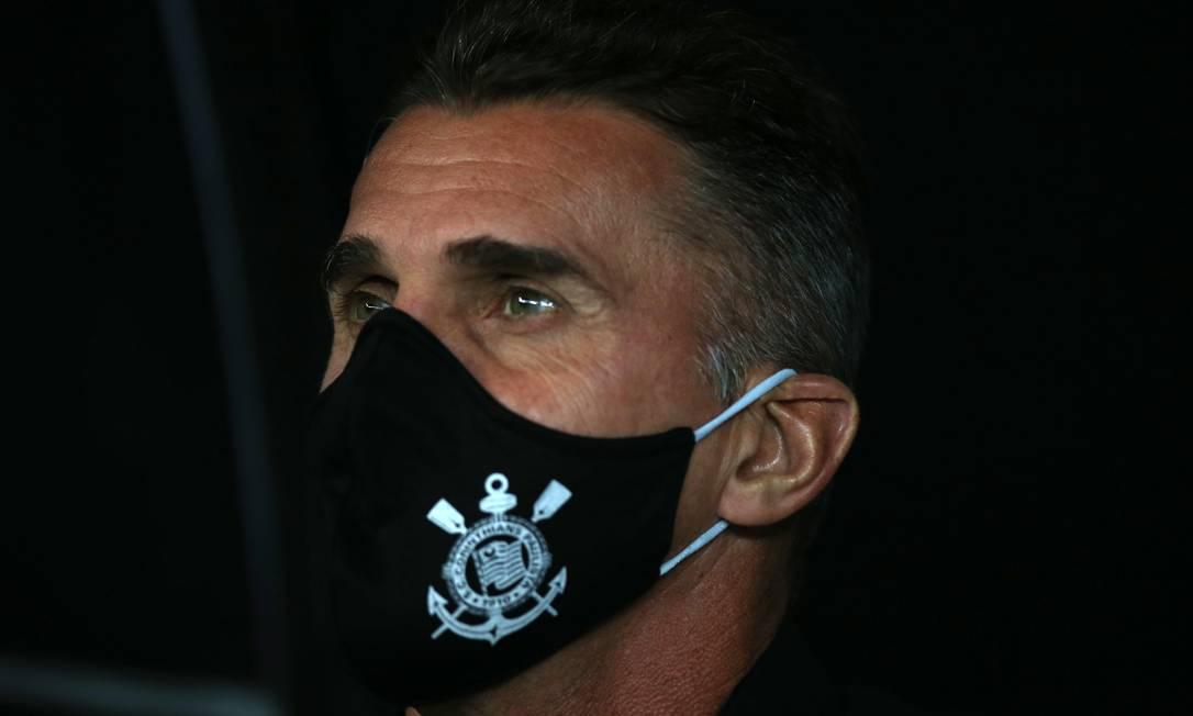 Vagner Mancini é o técnico do Corinthians Foto: ALEXANDRE SCHNEIDER / Pool via REUTERS