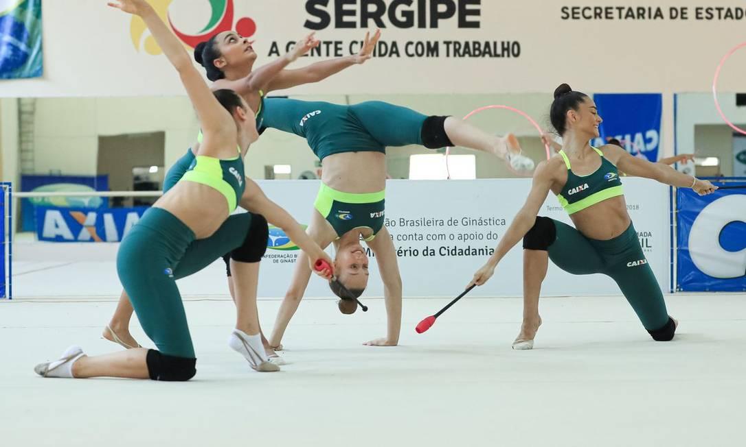 Caixa decidiu renovar o patrocínio à Confederação Brasileira de Ginástica (CBG) Foto: Ricardo Bufolin/CBG