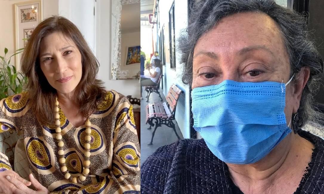 Beth Goulart atualiza quadro de Bárbara Bruna, intubada com Covid-19 Foto: Reprodução