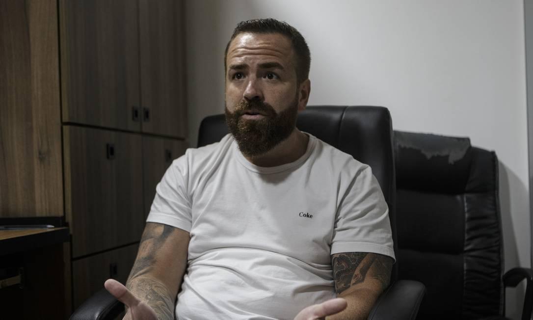 O pai de Henry, Leniel Borel de Almeida, que era separado de Monique Foto: Alexandre Cassiano / Agência O Globo