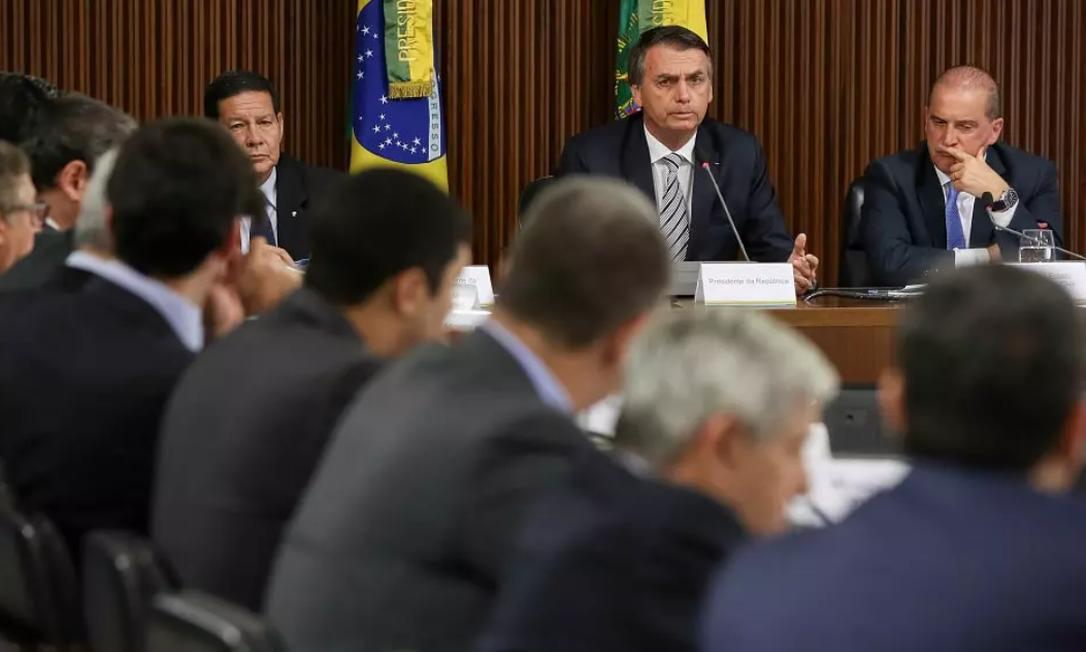 Ministros estão orientando senadores aliados a atuar na CPI da Pandemia Foto: Marcos Corrêa/PR