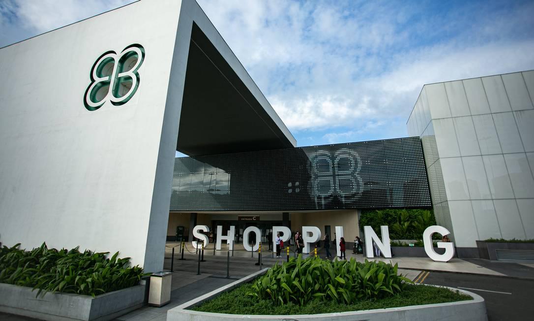 Barra Shopping, da Multiplan, no Rio Foto: Hermes de Paula / Agência O Globo