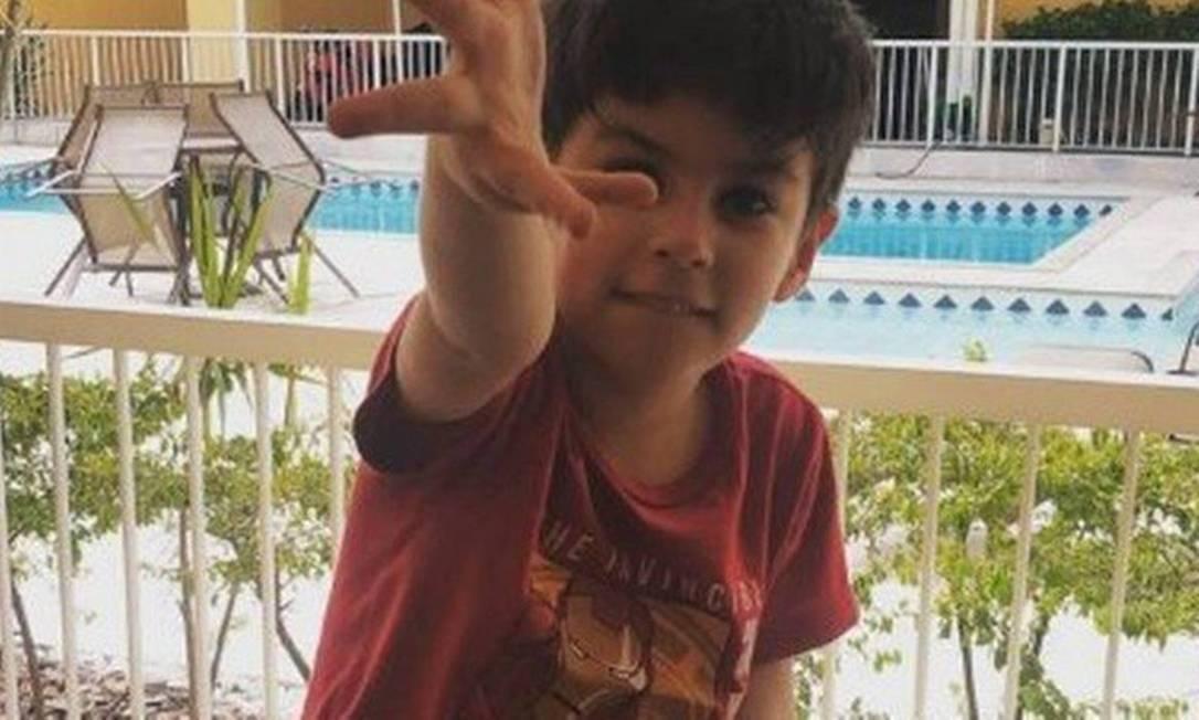 Henry Borel tinha 4 anos quando morreu Foto: Reprodução