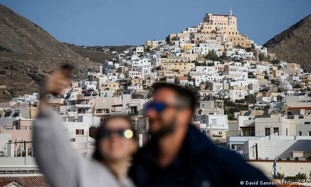 A partir de 15 de maio, Grécia pretende se abrir completamente aos turistas Foto: David Gannon/AFP/Getty Images