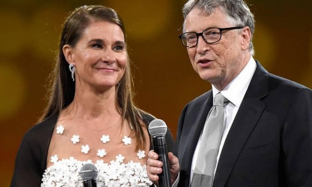 Melinda e Bill Gates deram boa parte de sua fortuna à sua Fundação que trabalha com caridade pelo mundo Foto: Getty Images